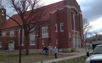 Holy Name Catholic Church at Hunter and Son in Kansas City, KS