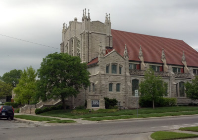 Plymouth Congregational Church Project  at Hunter and Son in Wichita Kansas