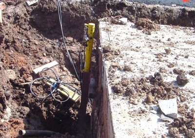 Resistance Pier Installation at  Hunter and Son in Winfield Kansas