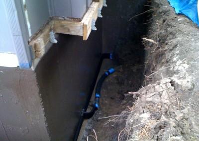 Spray Waterproofing at Hunter and Son in Salina KS