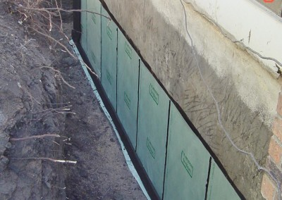 Waterproofing  at Hunter and Son in Garden Citiy, Kansas