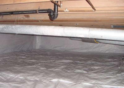Crawlspace Barrier at Hunter and Son in Garden City, KS