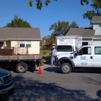 McConnell Waterproofing Project at Hunter and Son in Wichita Kansas
